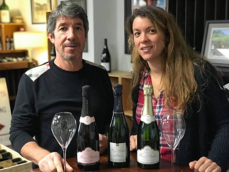 Nina og hendes far Hervé