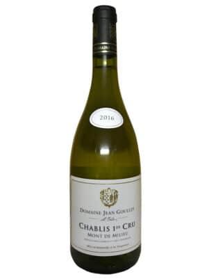 """Domaine Goulley Chablis 1. cru """"Mont de Milieu"""" 2016"""