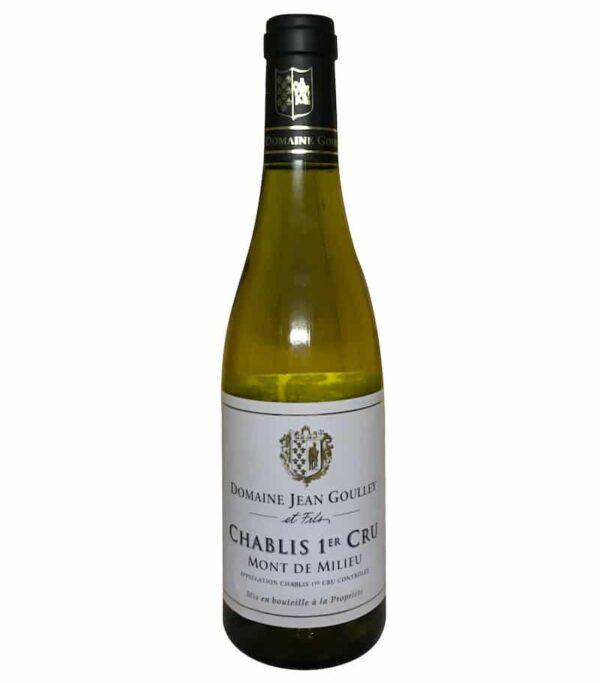 """Domaine Goulley Chablis 1. cru """"Mont de Milieu"""" 2017 halvflaske"""