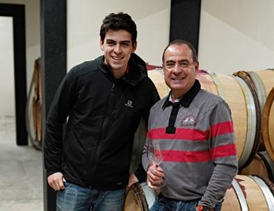 Jean-Marc og hans søn Antonin