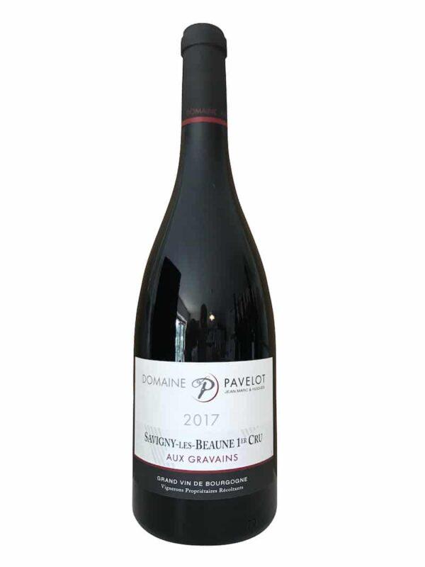 """Domaine Pavelot Savigny-Lès-Beaune 1. cru """"Aux Gravains"""" 2017"""