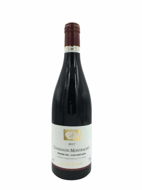 Domaine Jean-Marc Pillot Chassagne-Montrachet 1. cru Clos Saint-Jean 2017