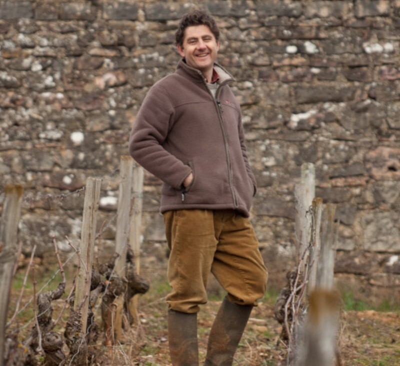 Olivier Cyrot fra Domaine Cyrot-Buthiau