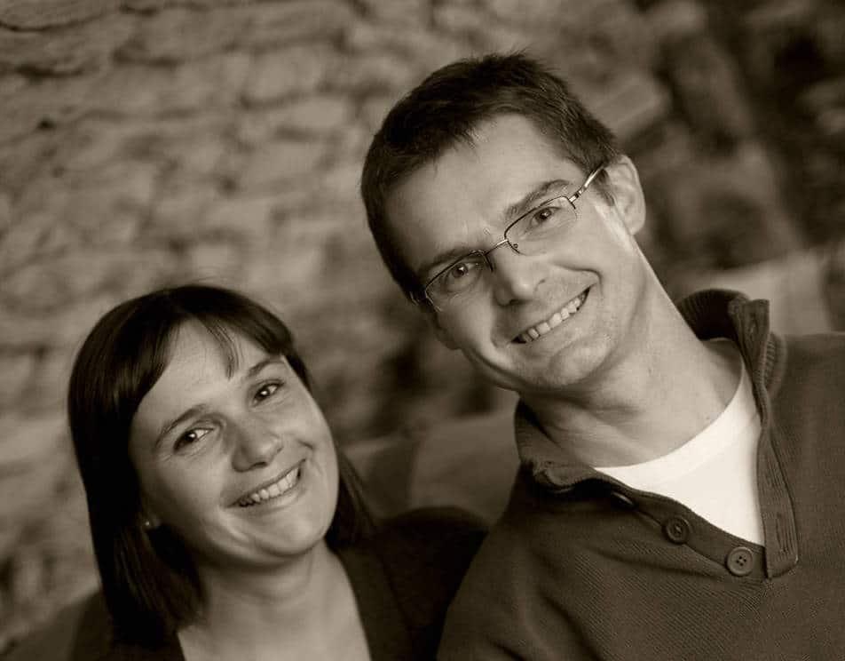Sophie og Fabrice