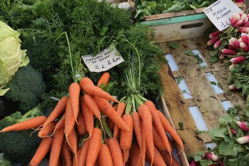 Grønne lækkerier i Beaune