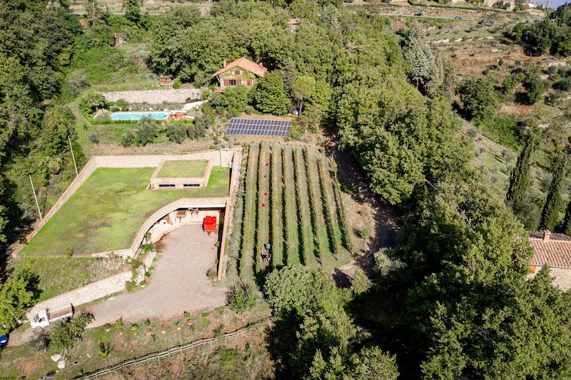 Vingården Villa i Cipressi