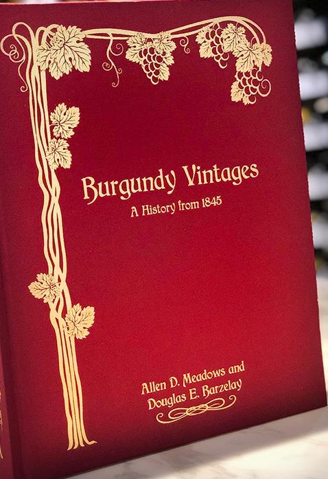 Burgundy vintages af Allen Meadows