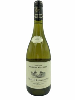 Domaine Goulley Chablis Montmains 2018